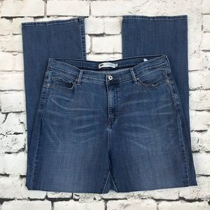 Levis 512 Perfectly Slimming Sz 18 Bootcut Jeans